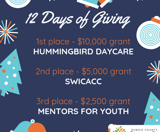 Community Foundation Grants $29,500 During 12 Days of Giving - 18 WJTS